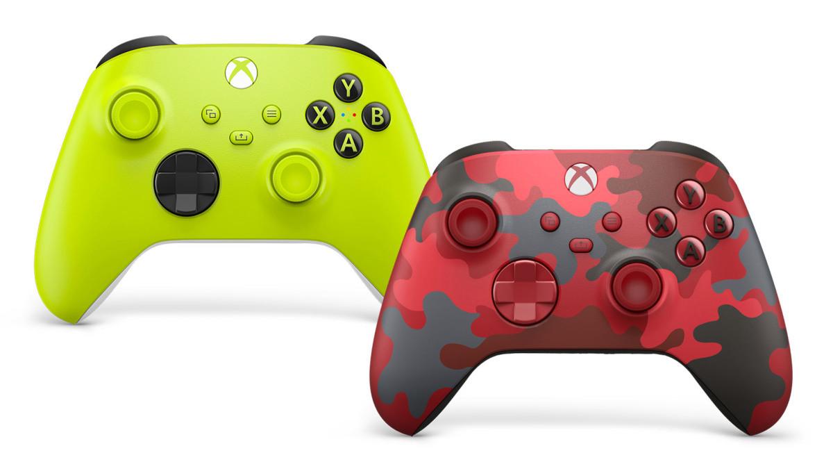 Представлены яркие и экологичные геймпады Xbox