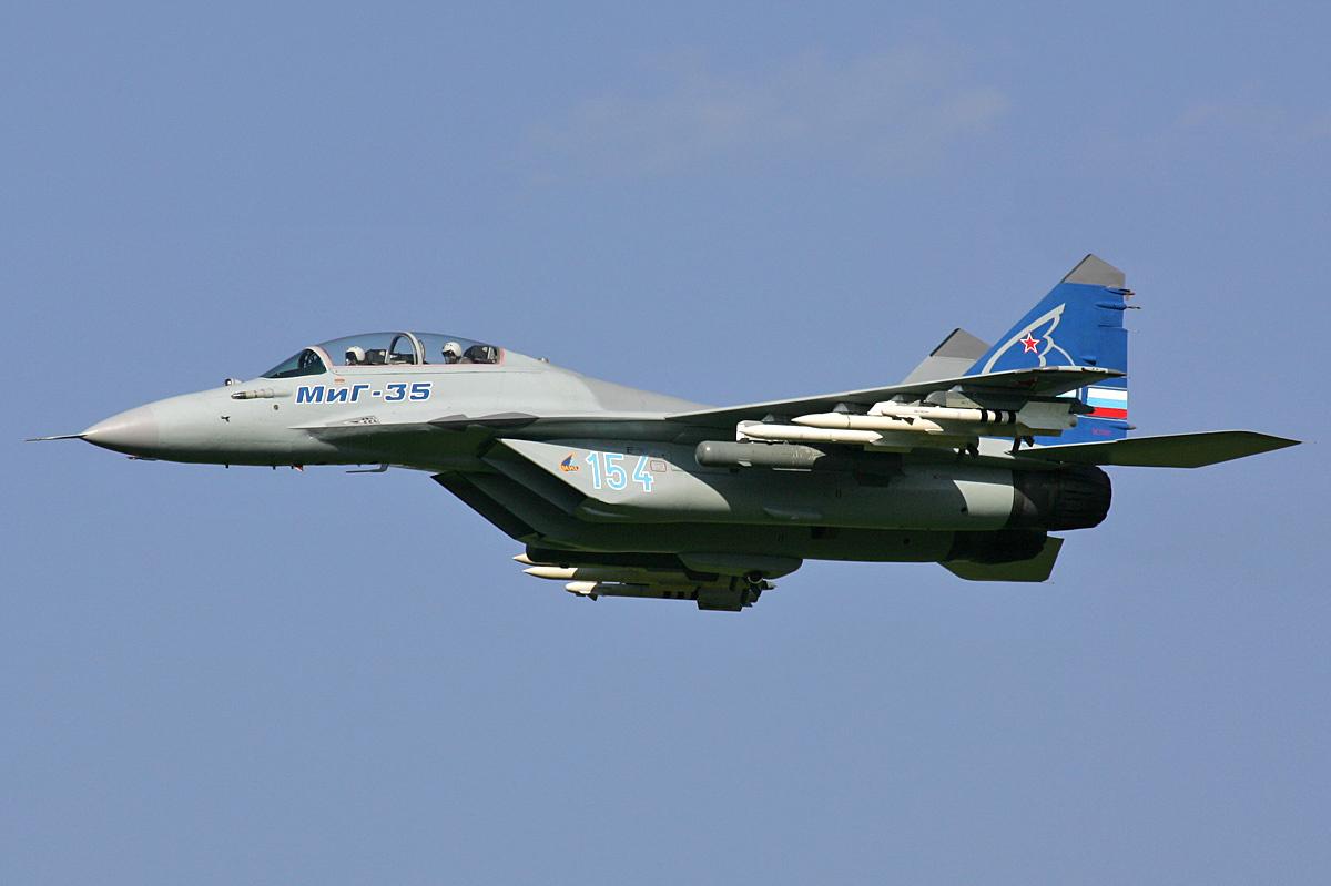 Истребитель МиГ-35 получит искусственный интеллект