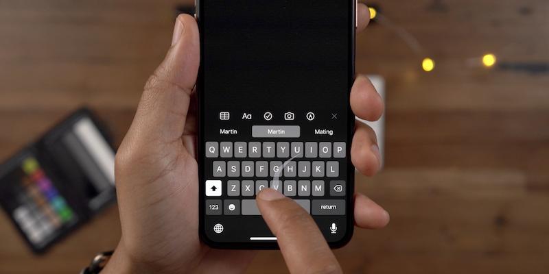В Apple придумали, как сделать автокоррекцию набора текста еще умнее