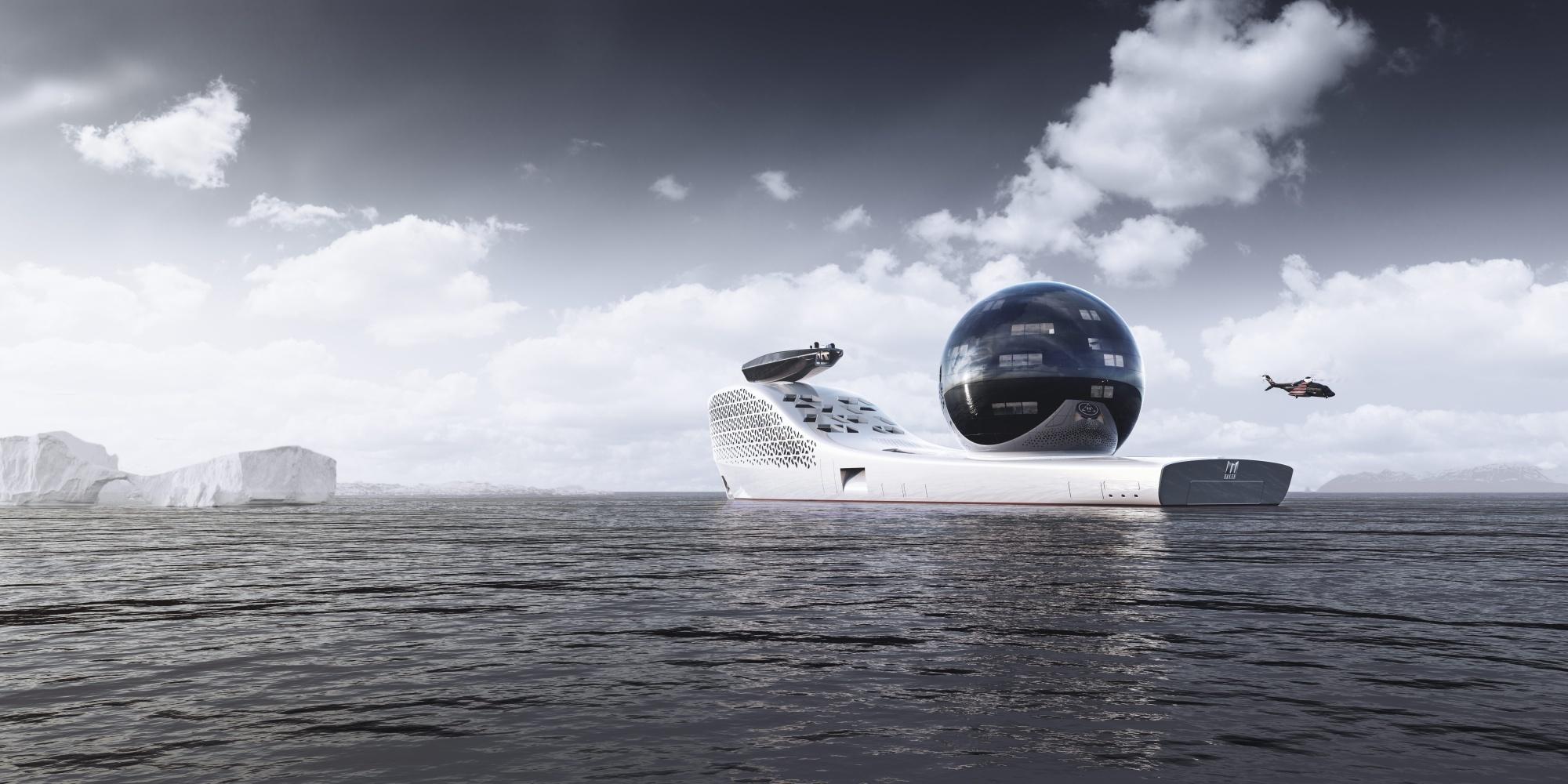 Названа стоимость экотура на первой в мире атомной яхте