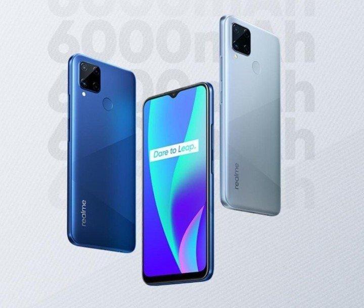 Недорогой смартфон Realme C15 с большим аккумулятором продается дешевле 10 тысяч рублей