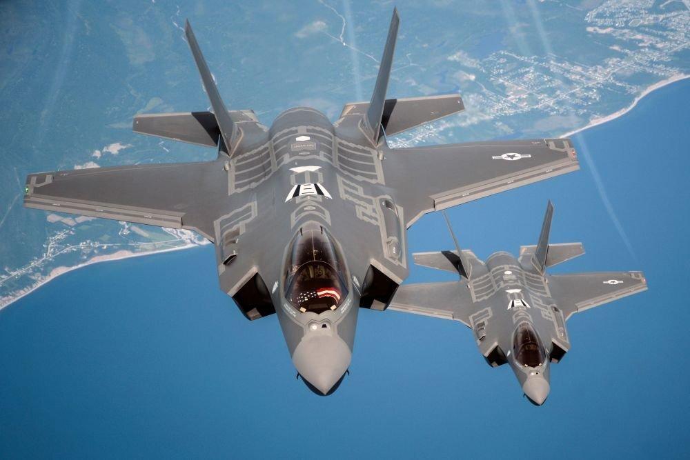 В США признали бесполезность новейших истребителей F-35 при проникновении вглубь Китая