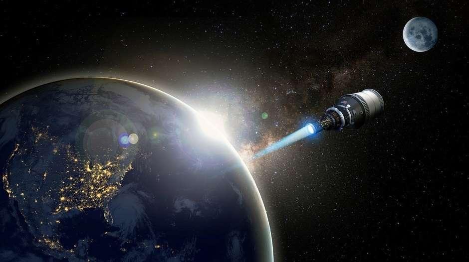 США создадут космический аппарат на ядерной тяге