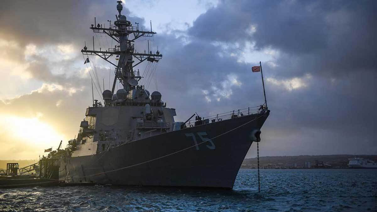 Пентагон объяснил, почему американские эсминцы передумали плыть на Чёрное море