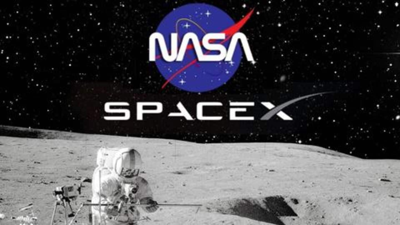 NASA договорилось со SpaceX Илона Маска о доставке астронавтов на Луну