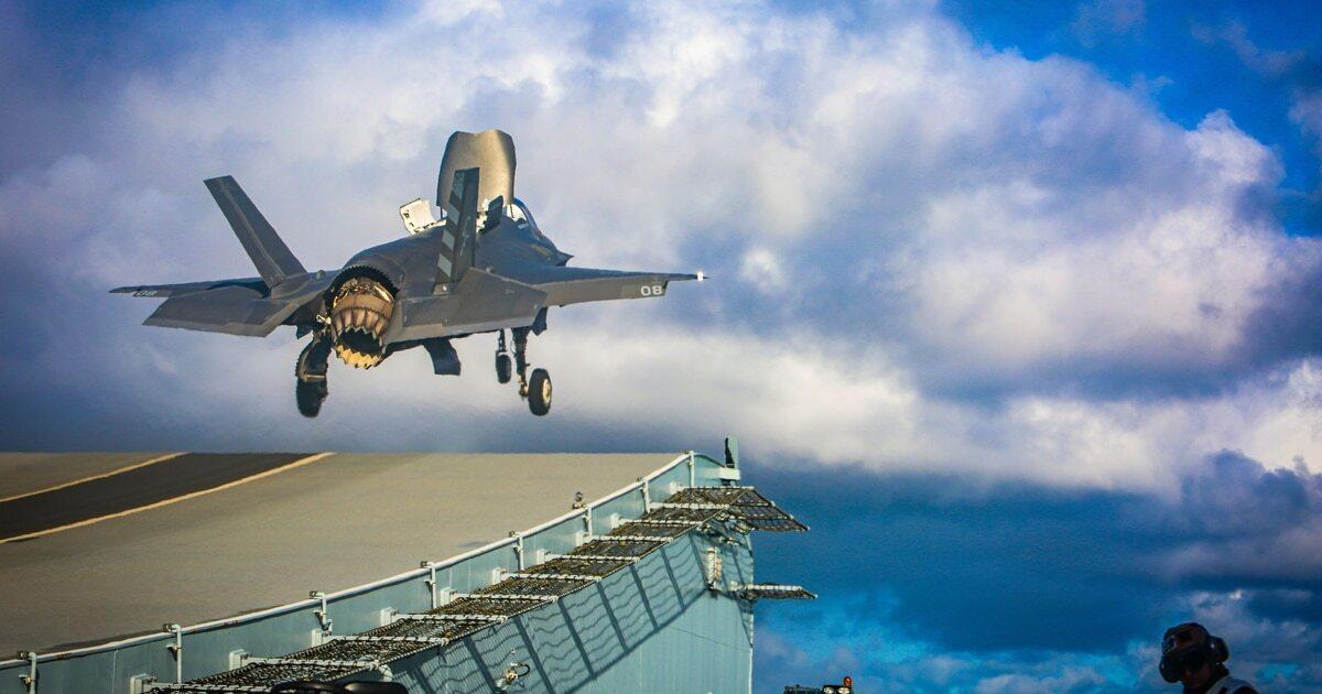 В Великобритании пообещали поддержать свои корабли в Чёрном море истребителями F-35