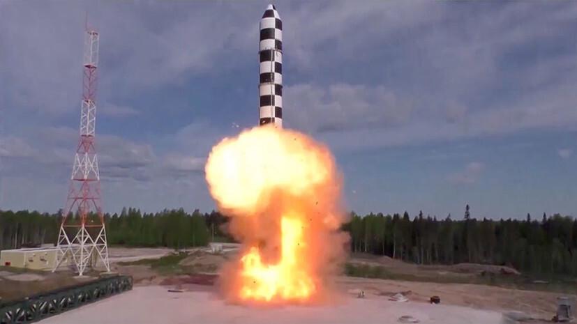 Путин раскрыл сроки передачи новейшей межконтинентальной ракеты Сармата военным