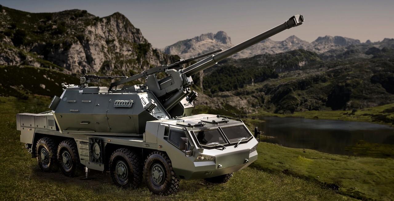 На Украине начались испытания чешской артиллерийской установки Dana-M2