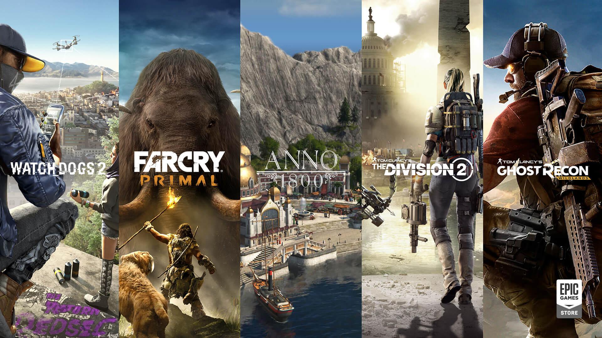 Раскрыта причина исчезновения игр Ubisoft из Epic Games Store в 2019 году