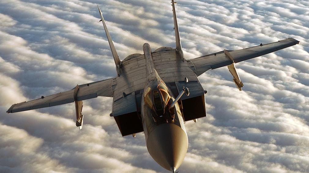 Российский истребитель МиГ-31 помешал разведывательной операции американского беспилотника