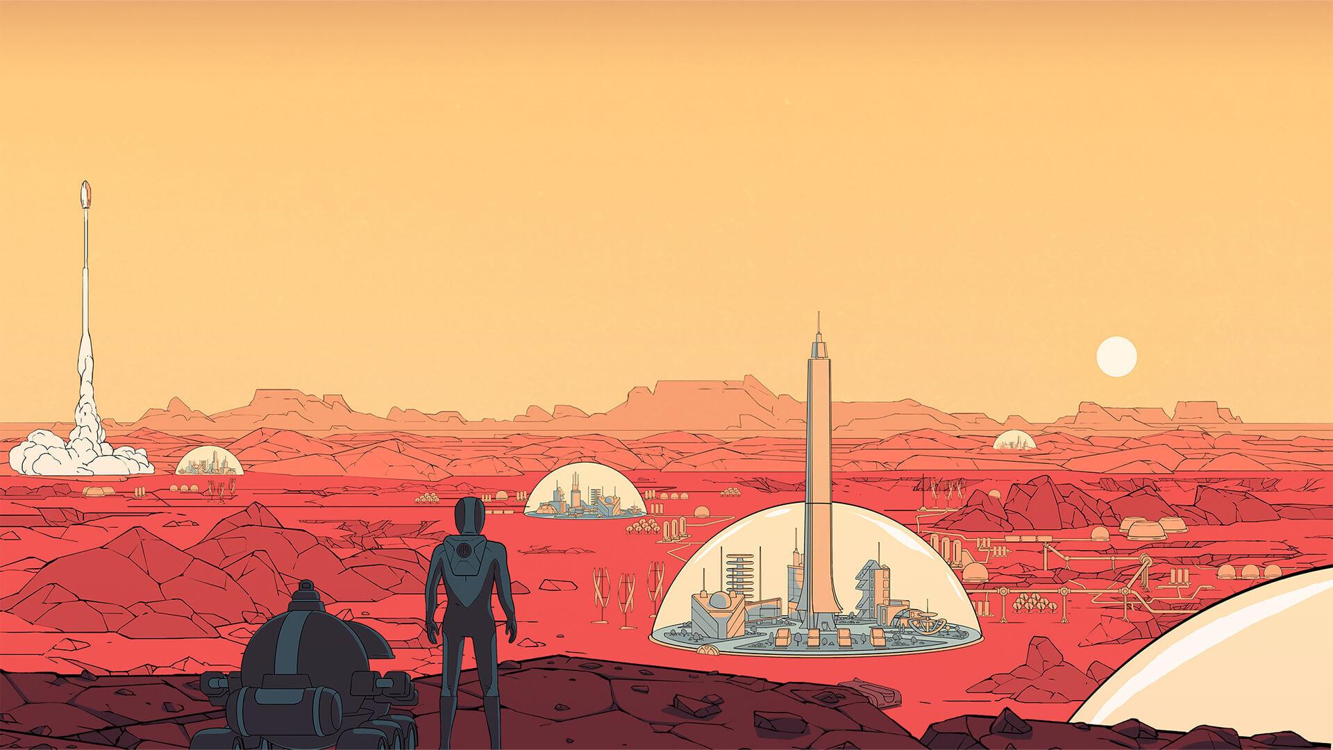 Игру-симулятор колонизации Марса раздают бесплатно и навсегда