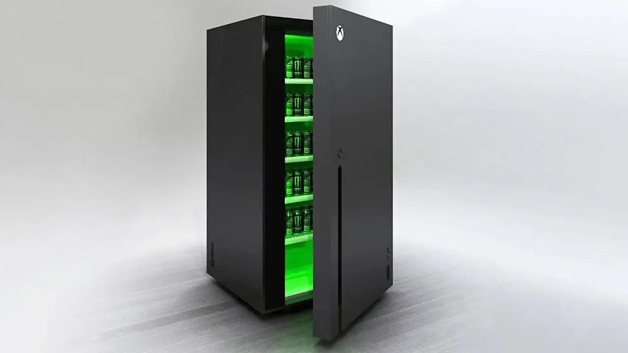 Microsoft подтвердила работу над холодильником в форме Xbox Series X