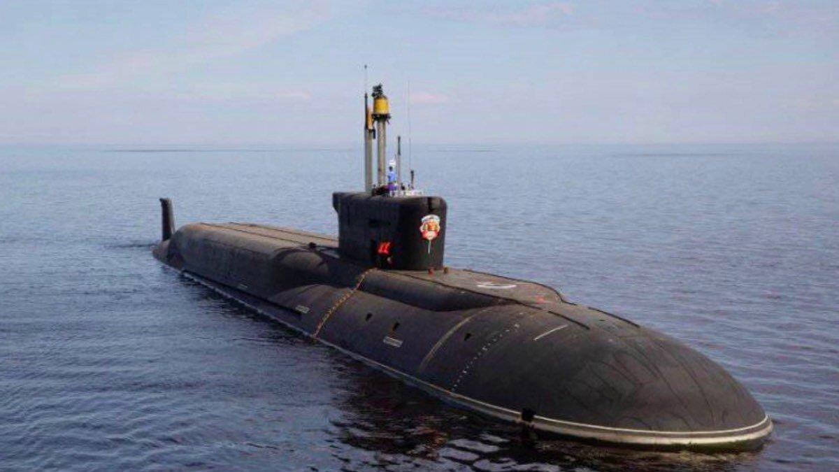 Новейший российский подводный ракетоносец «Князь Олег» впервые испытали на море