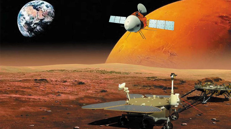 Китай опубликовал новое видео с Марса