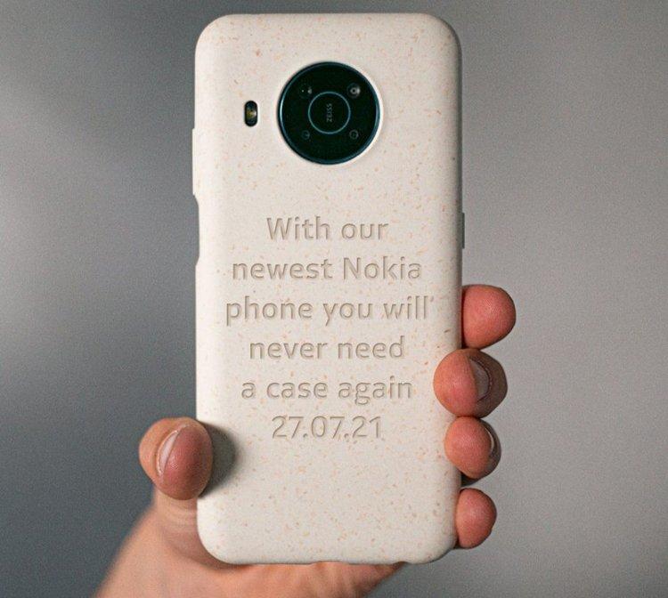 Nokia раскрыла внешность и дату анонса неубиваемого смартфона