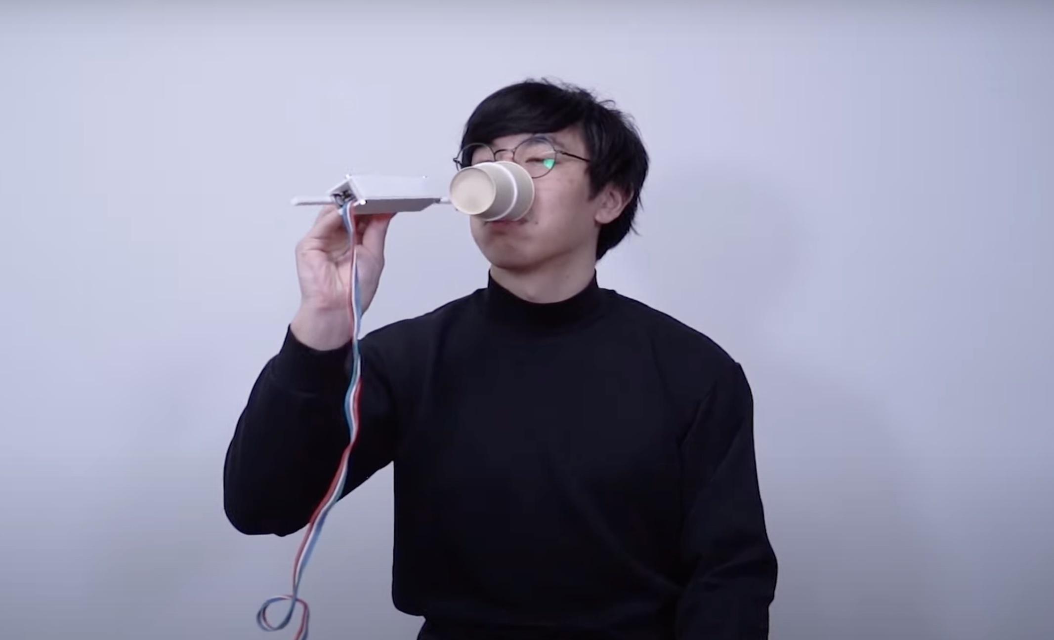 Разработан стакан, улучшающий вкус напитков