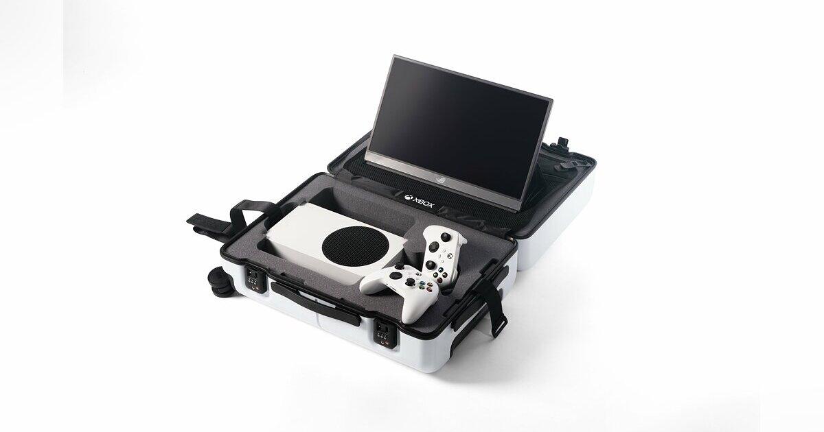 Создан специальный чемодан для транспортировки консоли Xbox вместе с аксессуарами