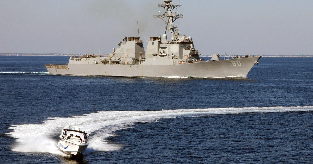 Местоположения военных кораблей начали подделывать для разжигания конфликтов