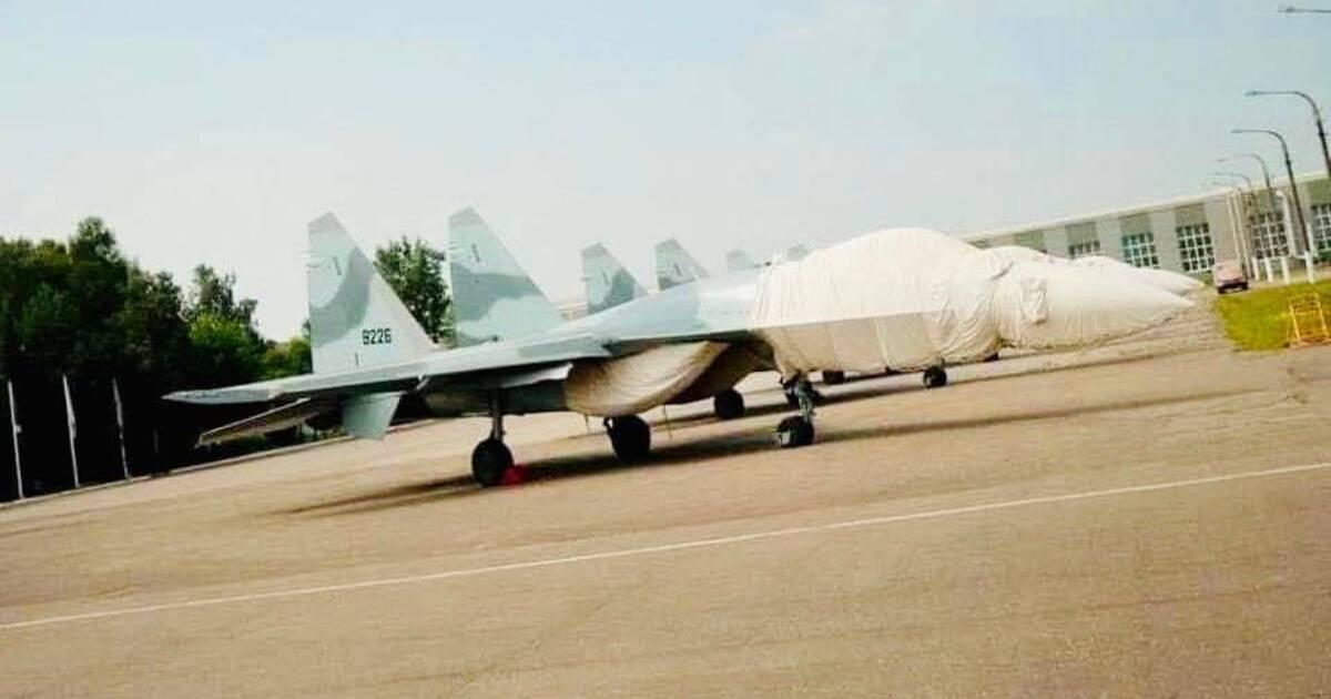 В Сеть утекла фотография экспортной версии истребителя Су-35