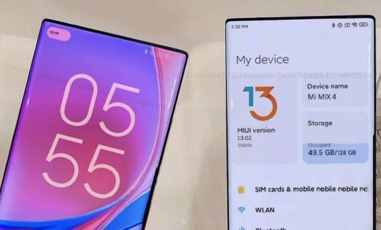 Первый флагманский смартфон Xiaomi с камерой-невидимкой получит устаревшую версию фирменной оболочки MIUI