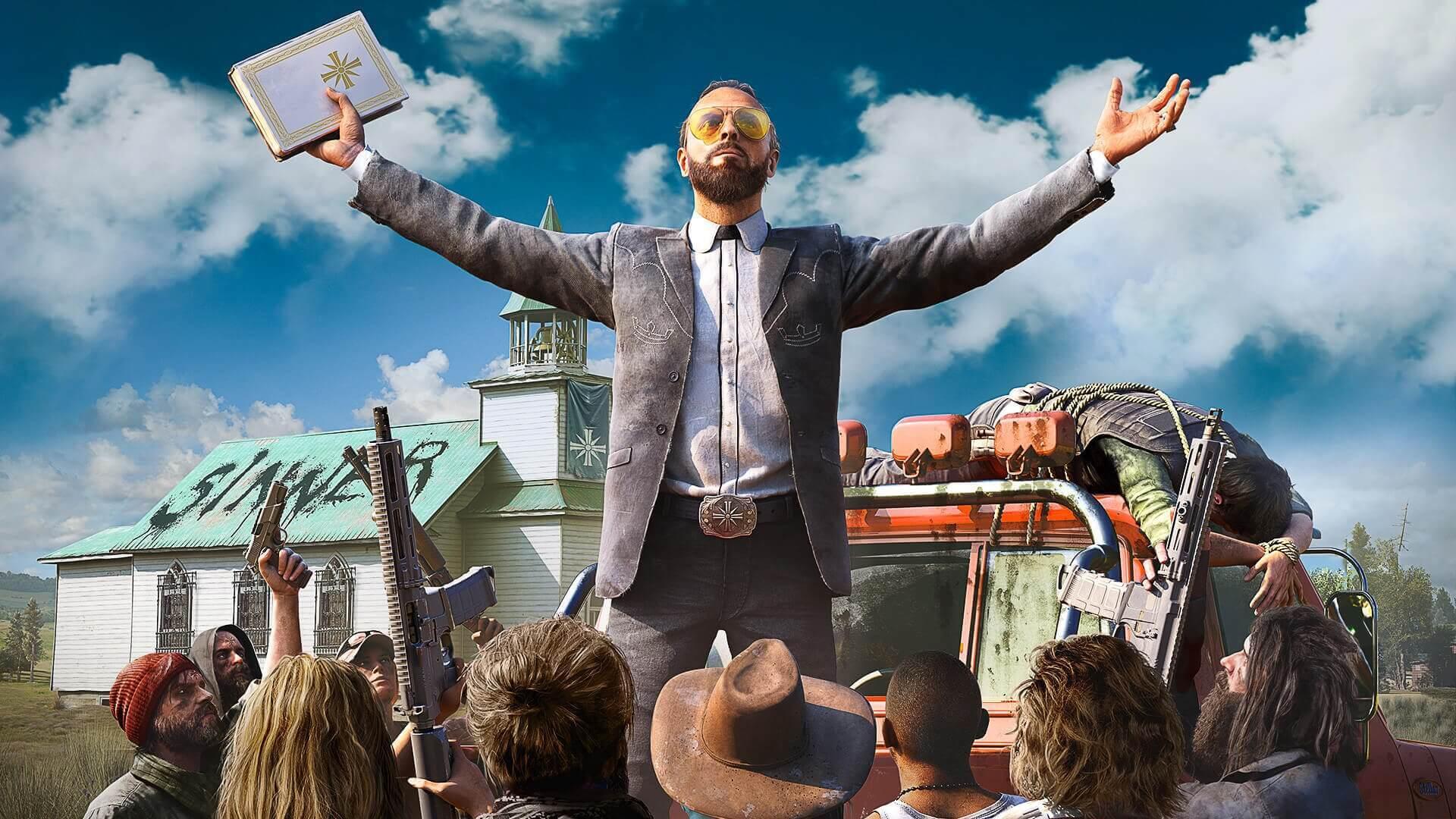 Игра о войне с сектантами Far Cry 5 стала временно бесплатной