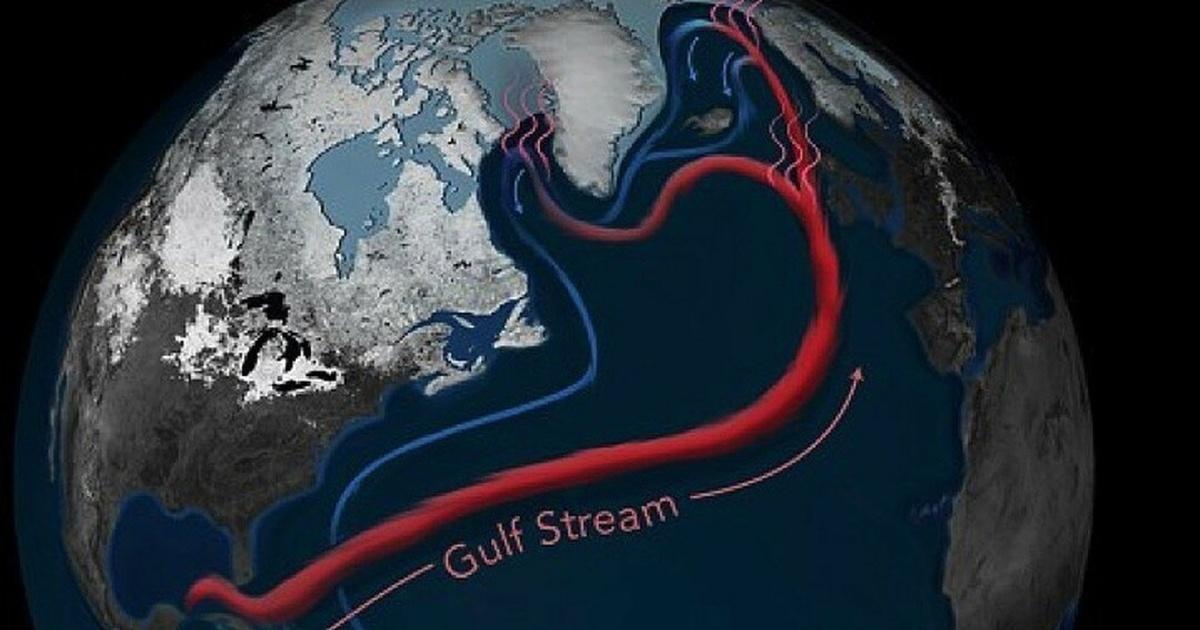 Учёные предупредили о погодных аномалиях на всей планете в будущем из-за изменений в течении Гольфстрим