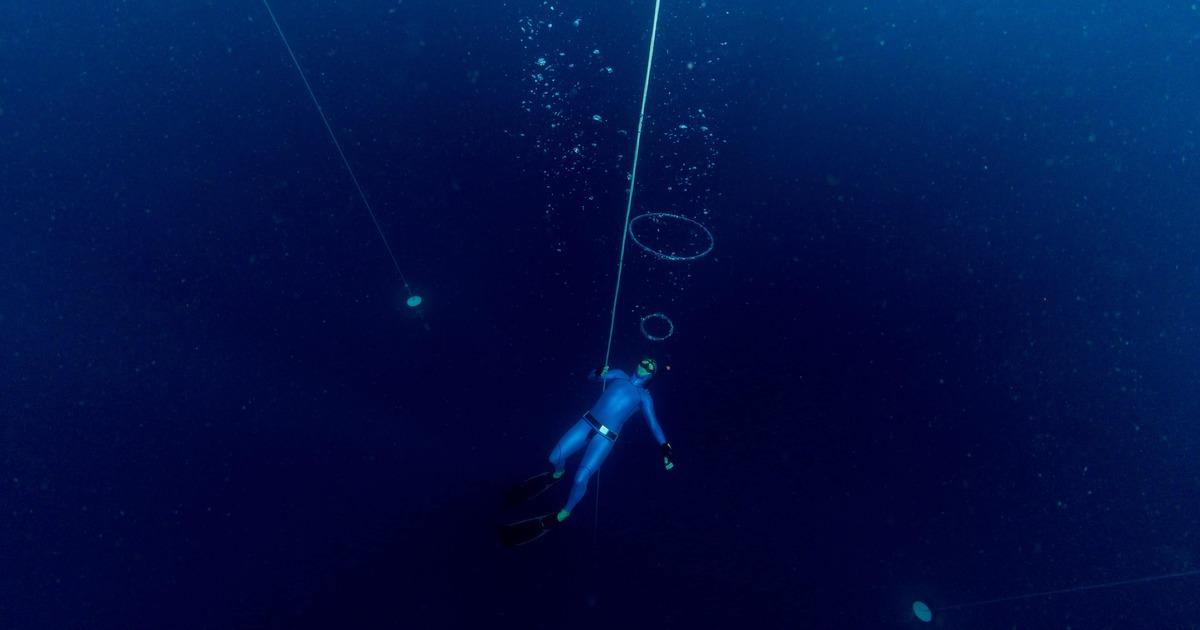 Научный журнал напомнил о рекордах человеческого организма в нырянии без акваланга