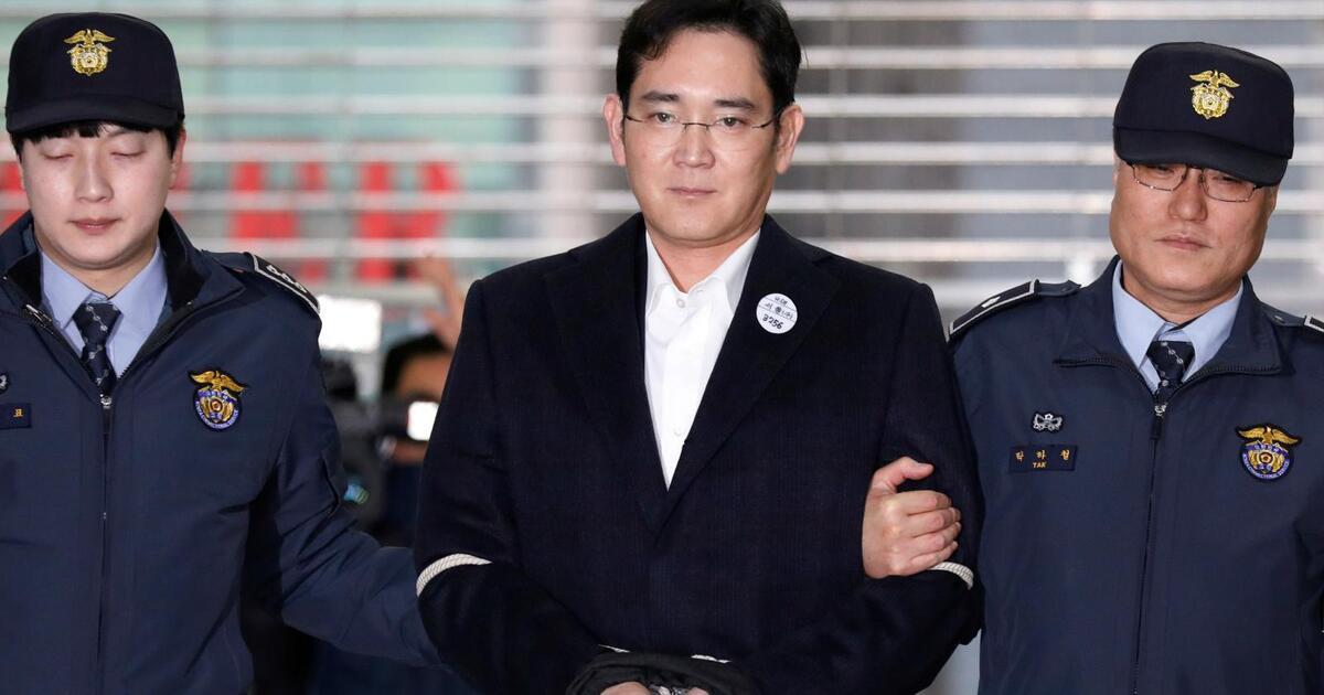 Осуждённый за взятки глава Samsung выйдет из тюрьмы досрочно