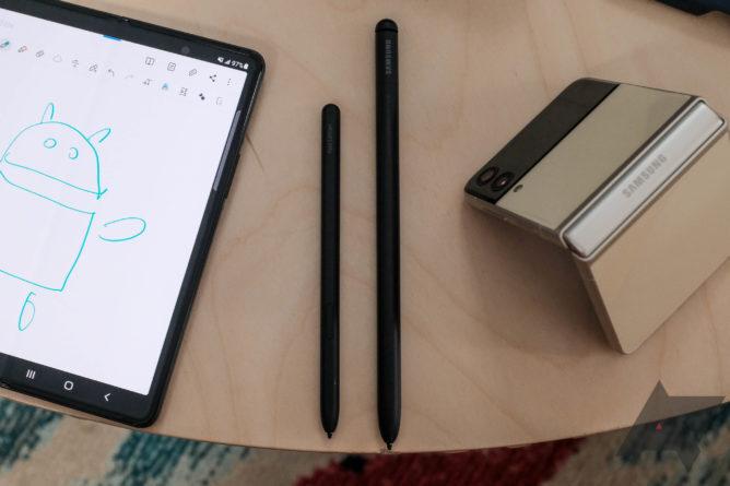 Дисплей гибкого флагмана Samsung Galaxy Z Fold 3 покрывается царапинами при использовании стилусов от прошлогодних Самсунгов