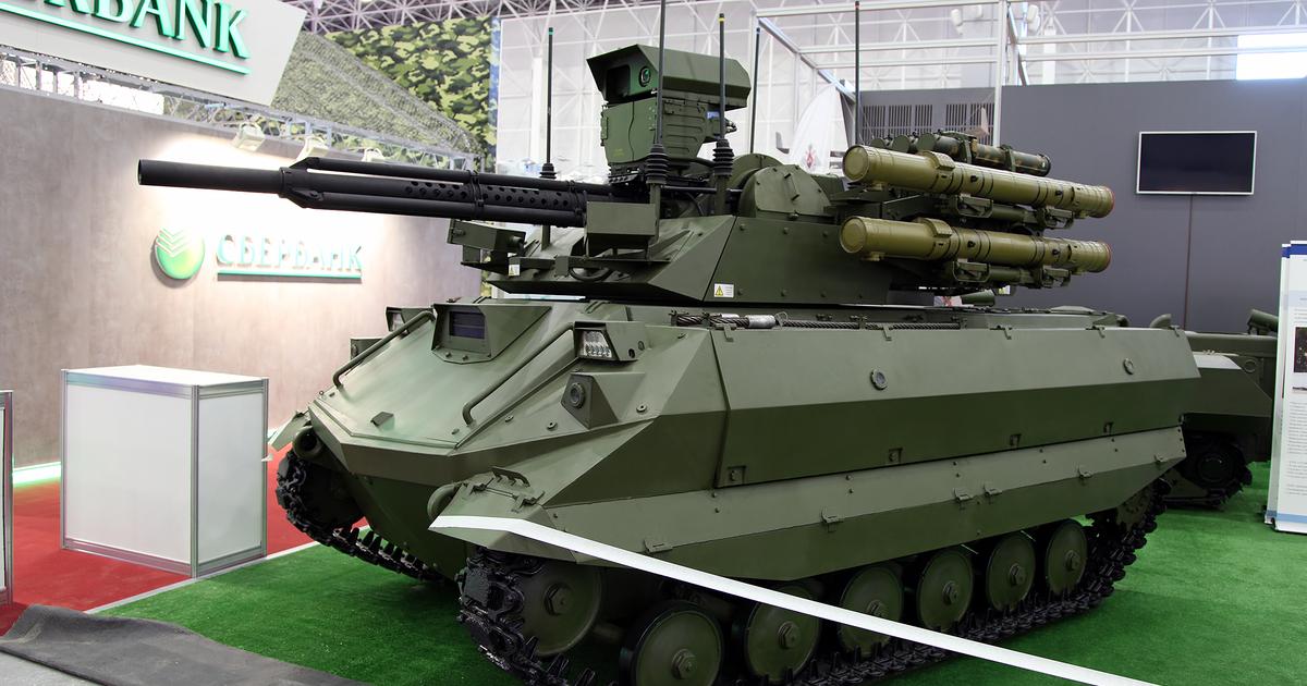 В России создадут робота противовоздушной обороны