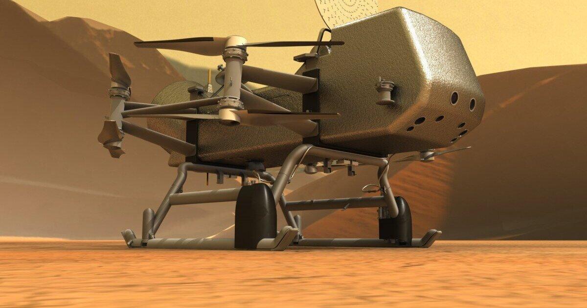 NASA запустит дрон для изучения Титана