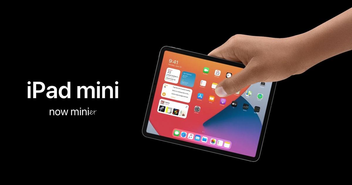Apple представит iPad mini с совершенно новым дизайном вместе с iPhone 13 в сентябре