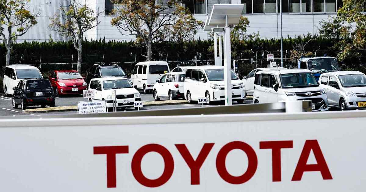 Toyota сократит выпуск автомобилей на 40% из-за дефицита полупроводников