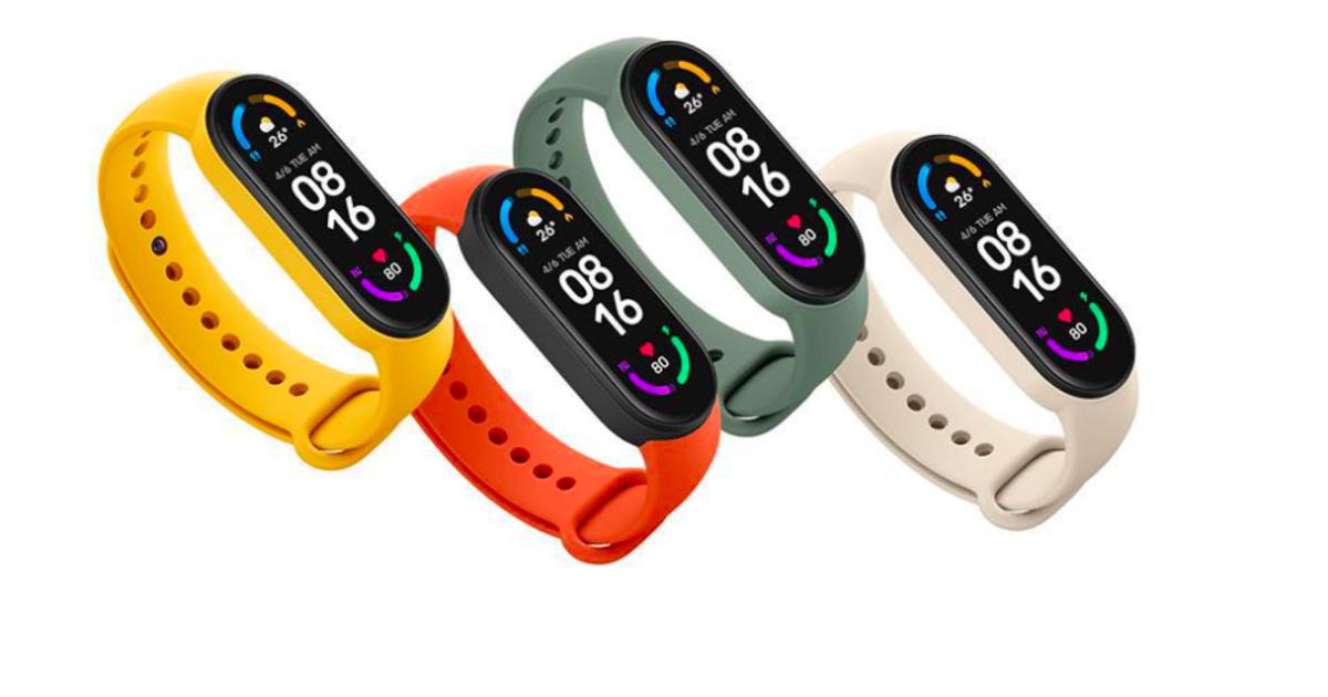 NFC-версия новейшего фитнес-браслета Xiaomi Mi Band 6 появится за пределами Китая