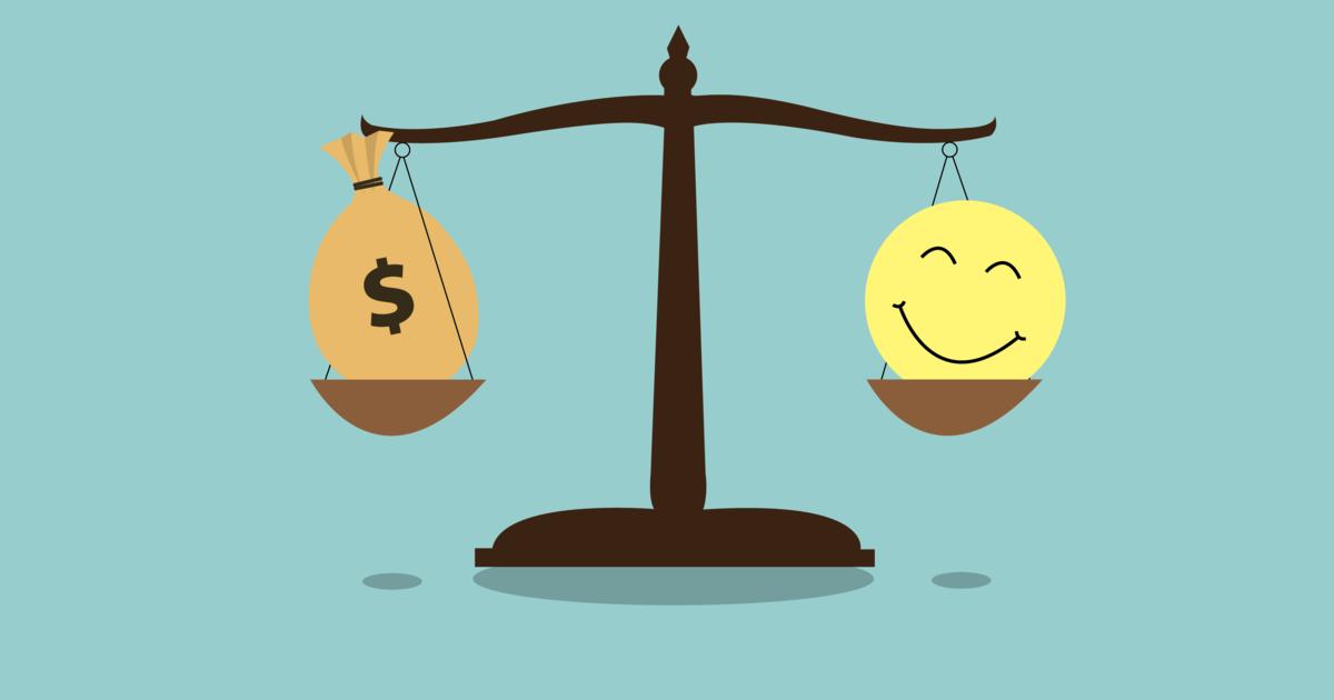 Учёные выяснили, сколько человеку нужно денег для счастья