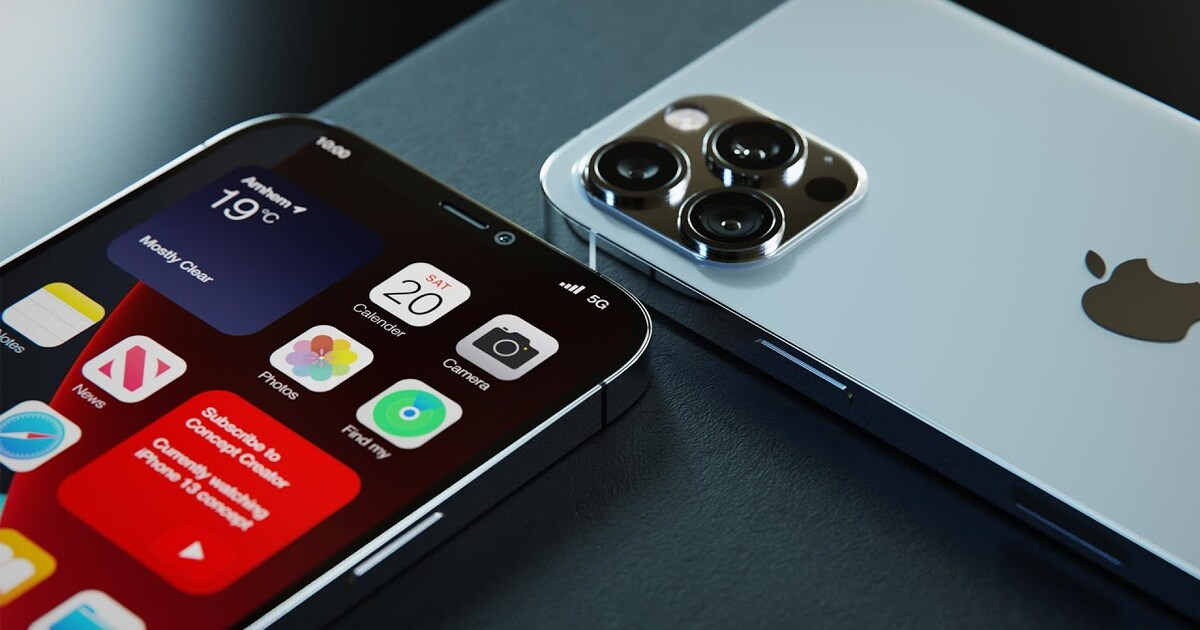 В сеть утекло фото нового розового iPhone 13 Pro