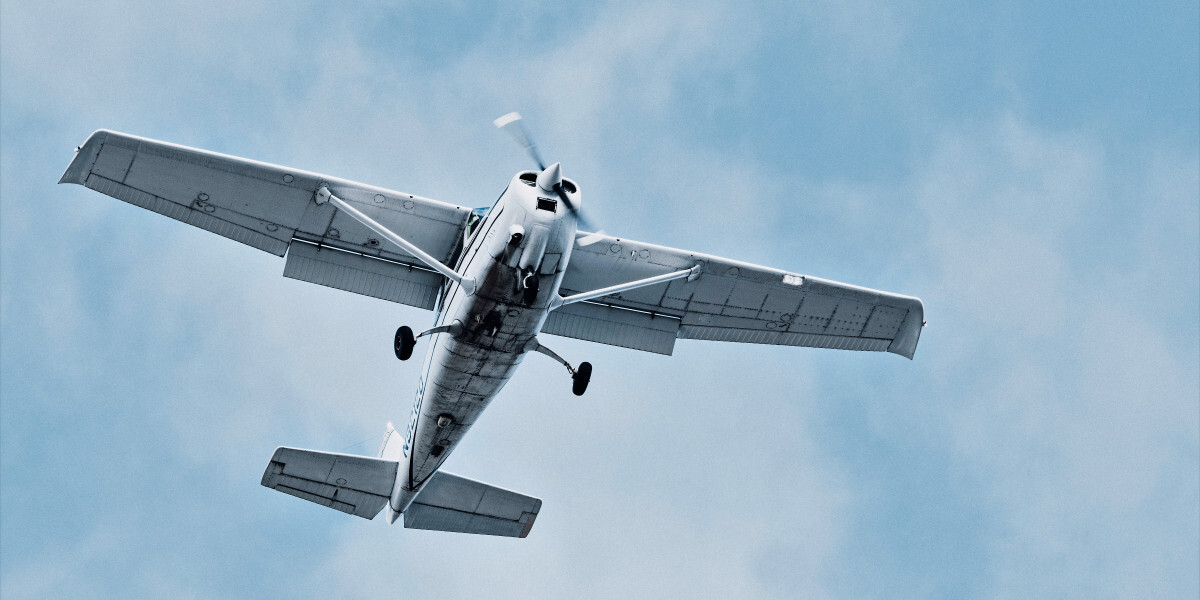 В Канаде полицейский дрон врезался в легкомоторный самолёт