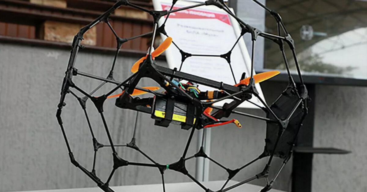 В России изобрели специальный беспилотник для разведки внутри зданий