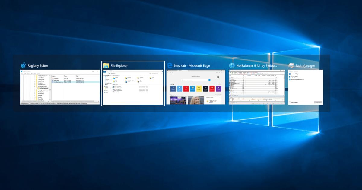 В Windows 10 сломалось переключение между окнами после очередного обновления