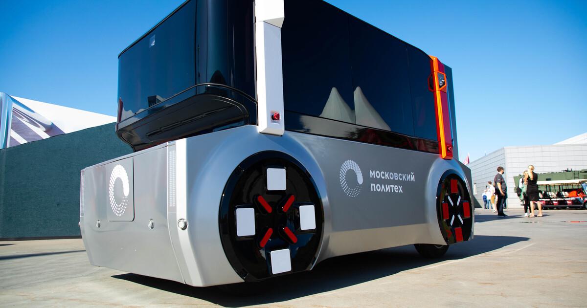 В России создали беспилотный автомобиль для прогулочной перевозки пассажиров