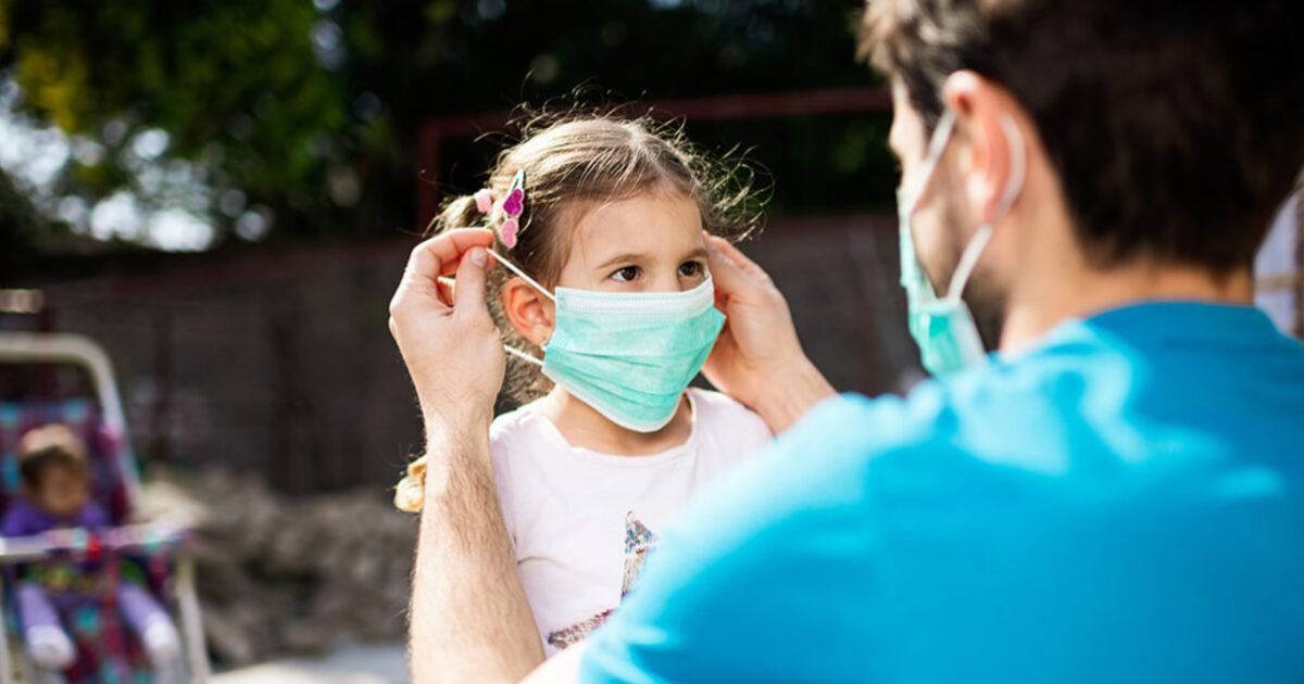 Педиатр сообщил о росте заболеваемости COVID-19 у детей и подростков