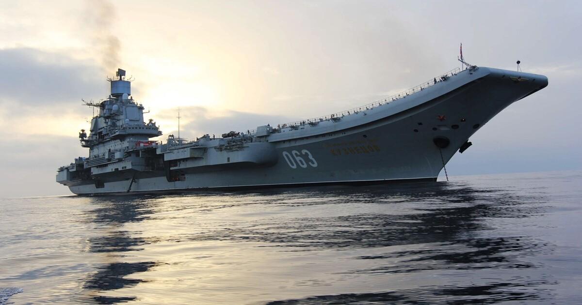 Российский адмирал объяснил малое количество кораблей РФ в сравнении с США