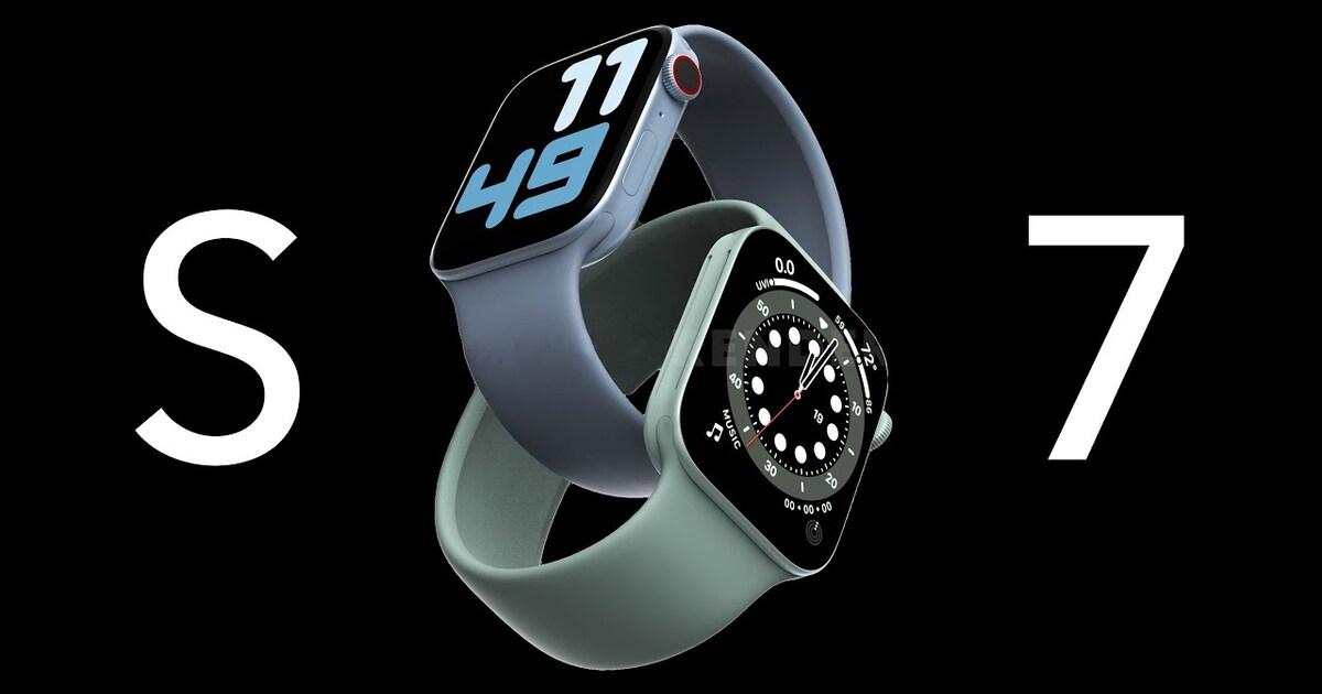 Часы Apple Watch Series 7 получат совершенно новый дизайн и станут самыми крупными за всю историю серии