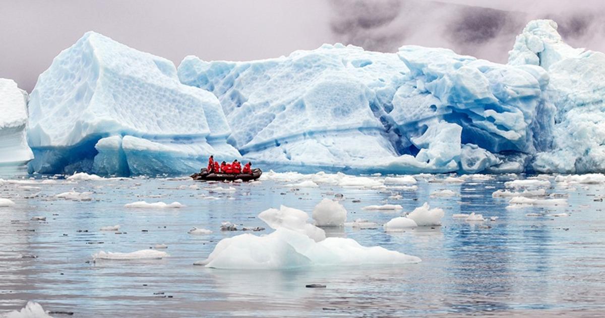 Дождь на ледниковом щите расценили как надвигающуюся катастрофу