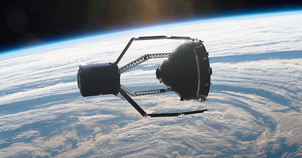 Японцы успешно захватили космический спутник