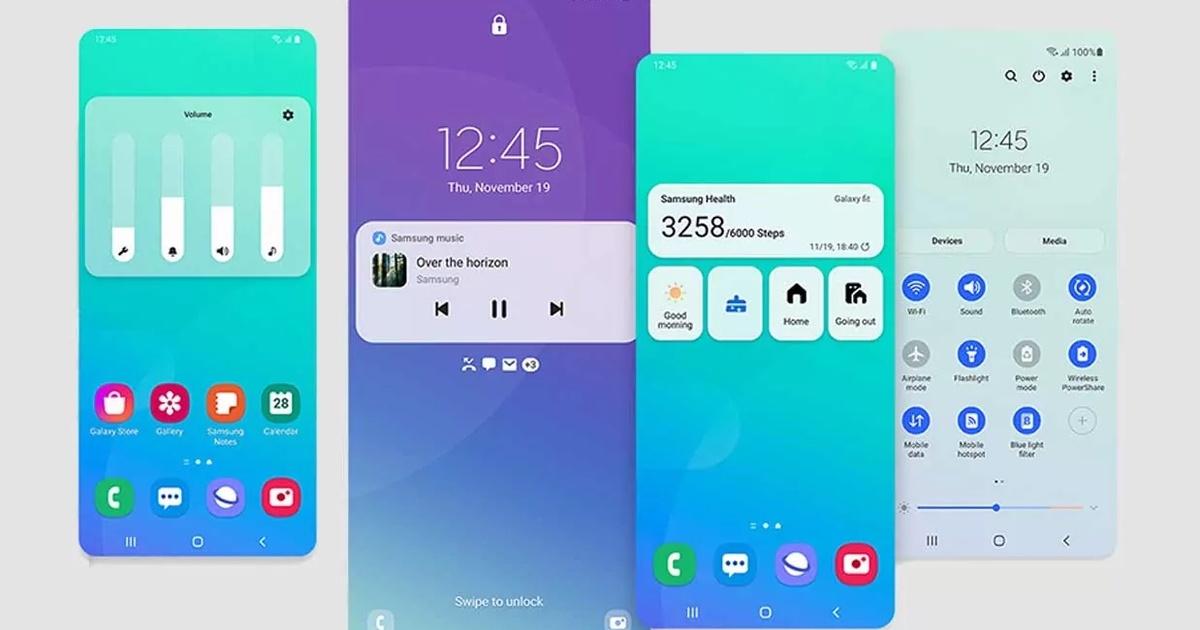 Первые смартфоны Samsung получат тестовую версию One UI на новейшем Android 12 уже в сентябре