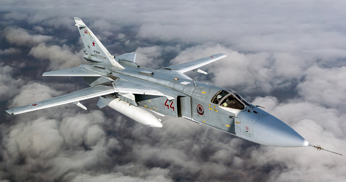 В России разбился ещё один военный самолёт