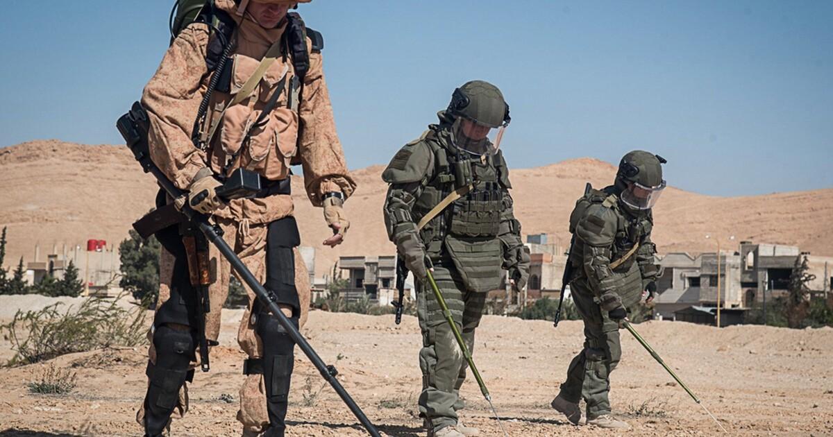 В Сирии российские военные впервые использовали боевые экзоскелеты
