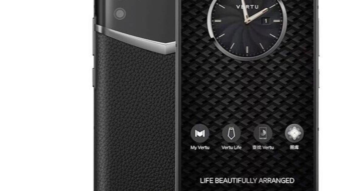 Опубликован обзор новой модели люкс-смартфона Vertu за 325 тысяч рублей