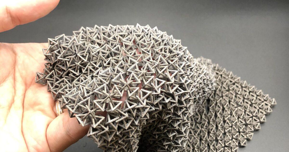 Создана умная ткань с возможностью переключения между жёстким и гибким состоянием